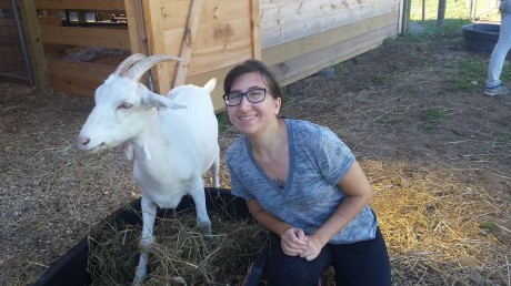 me and goat